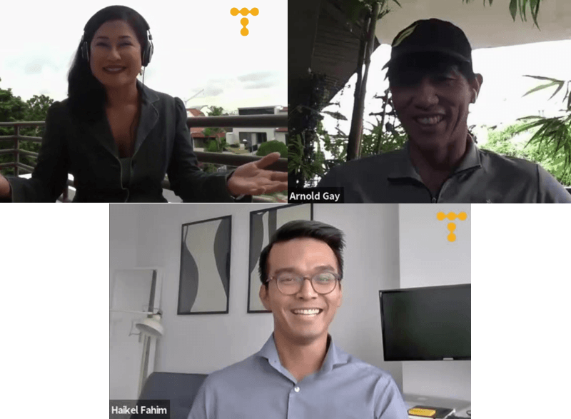 Telum Talks To... Arnold Gay and Yasmin Jonkers, Presenters, Asia First, CNA938