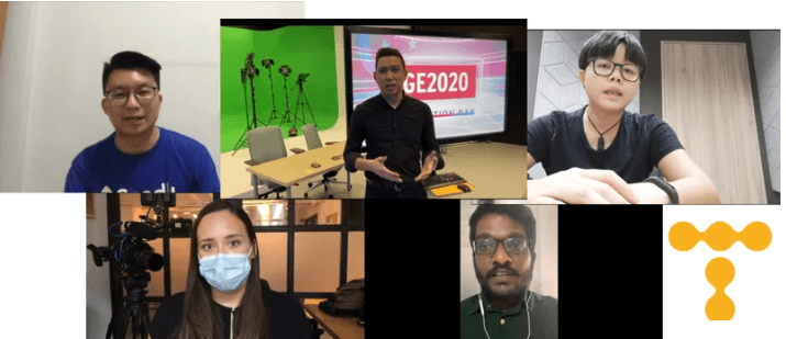 Telum vox pops: Covering GE2020 during a pandemic