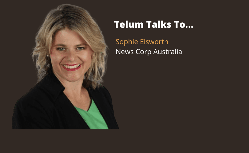 Telum Talks To... Sophie Elsworth, National Personal Finance Writer, News Corp Australia