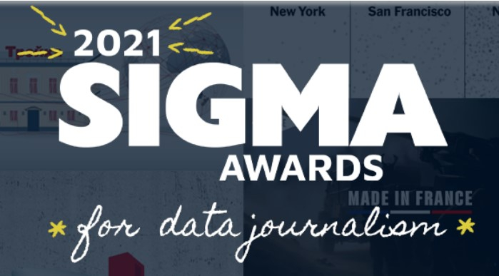 The Sigma Awards 2021 for data journalism open for entries