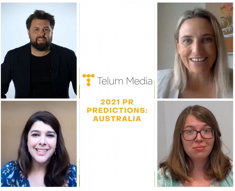 Telum Talks To... Australian PR leaders about the trends to expect in 2021