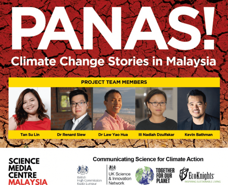 Science Media Centre (SMC) Malaysia launches PANAS! Climate Change Stories in Malaysia