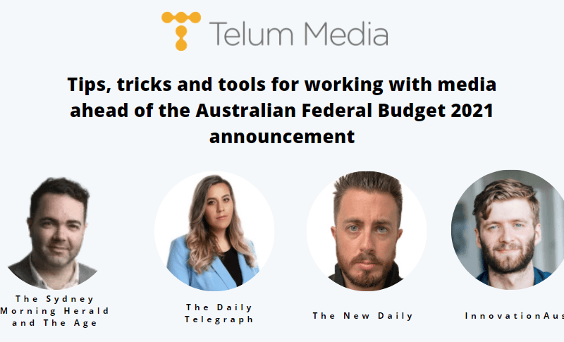 How to work with media ahead of the Australian Federal Budget 2021