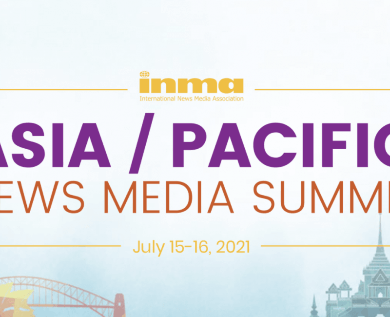 Register for INMA Asia Pacific News Media Summit